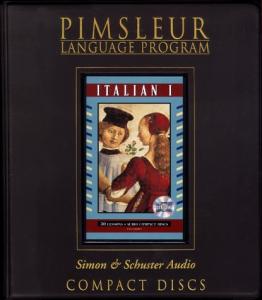 Pimsleur - Итальянский язык, Уровень I, II, III (русская редакция) - 2014